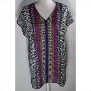 Chaus New York women's large blouse top shirt